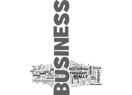 どんなビジネスをあるテキストで単語のクラウドのコンセプト
