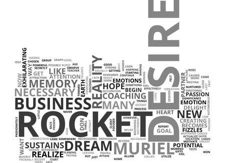 テキストワードクラウドのコンセプトをフィズルするロケットは何が良いですか  イラスト・ベクター素材