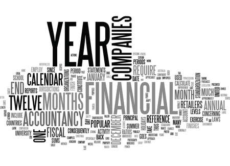 WHAT IS FISCAL YEAR TEXT WORD CLOUD CONCEPT