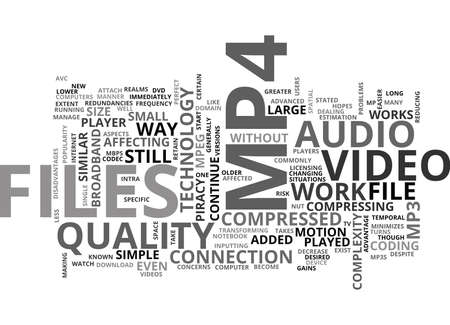 WHAT IS MP TEXT WORD CLOUD CONCEPT Illustration