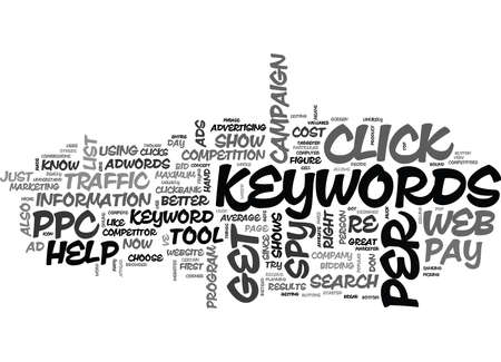 WHAT IS PPC WEB SPY TEXT WORD CLOUD CONCEPT