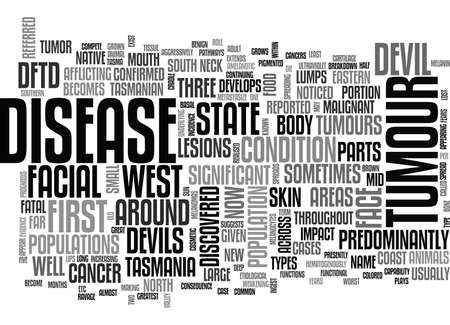 discovered: WHERE IS FACIAL TUMOUR WORST TEXT WORD CLOUD CONCEPT Illustration