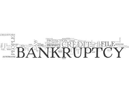 WHAT THE CREDIT INDUSTRY DOESN T WANT YOU TO KNOW ABOUT BANKRUPTCY TEXT WORD CLOUD CONCEPT