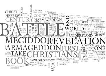 word of mouth: WHERE S ARMAGEDDON TEXT WORD CLOUD CONCEPT