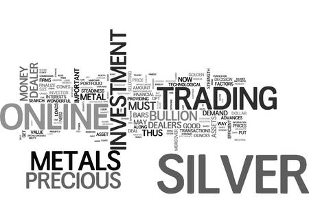 WHY SILVER MAY BE A GOLDEN INVESTMENT FOR TEXT WORD CLOUD CONCEPT Illustration