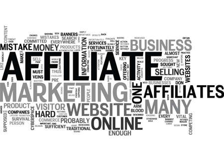 affiliates: WHY SOME AFFILIATES DON T MAKE ENOUGH MONEY TEXT WORD CLOUD CONCEPT