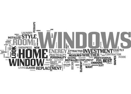 WINDOWS A GREAT INVESTMENT TEXT WORD CLOUD CONCEPT Фото со стока - 79616631
