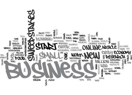 テキストの単語の概念はクラウドをビジネス開始に勝つ  イラスト・ベクター素材