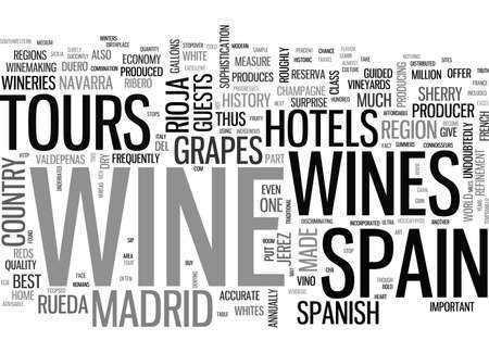 whites: WINE TOURS IN SPAIN WHERE THERE S VINO THERE ARE WINE TOURS TEXT WORD CLOUD CONCEPT