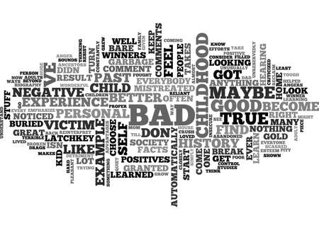WINNER S GOLD FROM PERSONAL GARBAGE TEXT WORD CLOUD CONCEPT