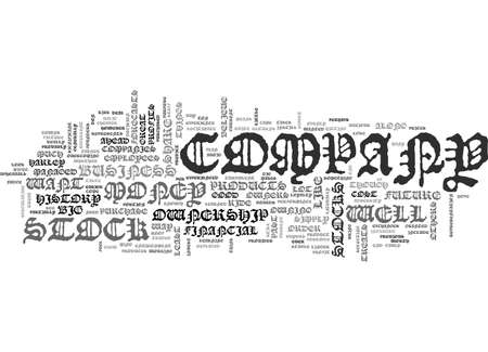 WHAT IS STOCK TEXT WORD CLOUD CONCEPT