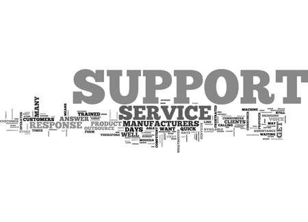 サポート テキスト WORD クラウド コンセプトは何です。