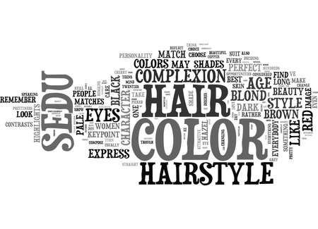 WHAT IS THE BEST COLOR FOR YOUR SEDU HAIRSTYLE TEXT WORD CLOUD CONCEPT