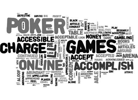 WHAT IT TAKES TO BE SUCCESSFUL ARENA POKER TEXT WORD CLOUD CONCEPT