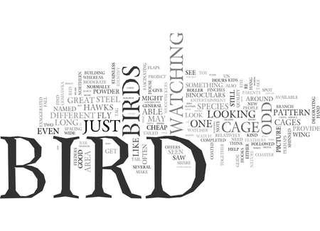 どのような種類の鳥だったテキスト WORD クラウドの概念は、  イラスト・ベクター素材