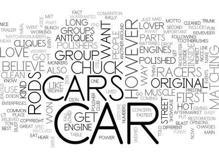 WHAT KIND OF CAR LOVER ARE YOU TEXT WORD CLOUD CONCEPT