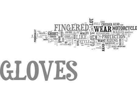 counterparts: WHAT KIND OF MOTORCYCLE GLOVES DO I NEED TEXT WORD CLOUD CONCEPT