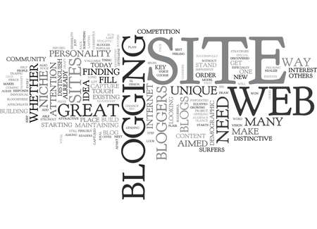 WHAT MAKES A GOOD BLOG TEXT WORD CLOUD CONCEPT