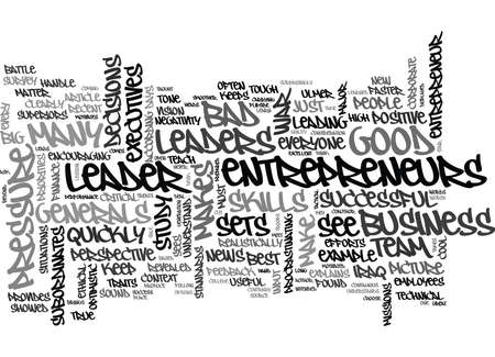 WHAT MAKES A GOOD LEADER ASK UNCLE SAM TEXT WORD CLOUD CONCEPT