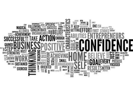 WHAT MAKES A SUCCESSFUL HOME BUSINESS ENTREPRENEUR TEXT WORD CLOUD CONCEPT