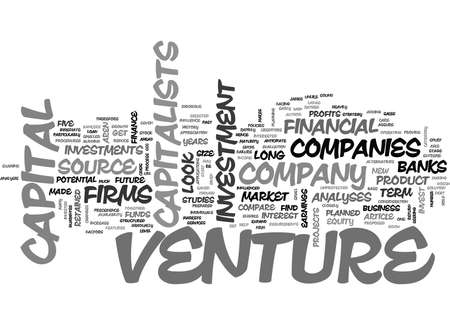 writer: WHAT MAKES YOU ELIGIBLE FOR VENTURE CAPITAL TEXT WORD CLOUD CONCEPT