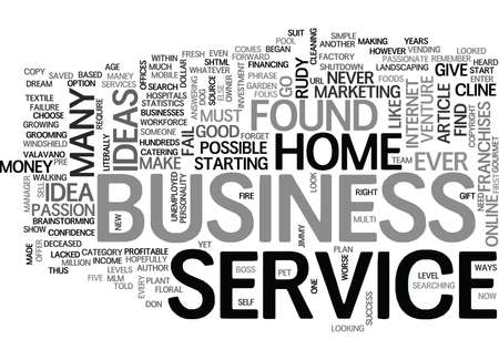 WHAT ME START A HOME BUSINESS TEXT WORD CLOUD CONCEPT