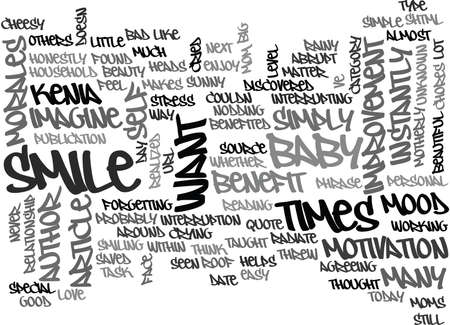 WHAT MY BABY TAUGHT ME TEXT WORD CLOUD CONCEPT