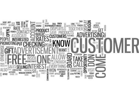 checking account: WHAT NOT TO DISPLAY ON DISPLAY SIGNS TEXT WORD CLOUD CONCEPT
