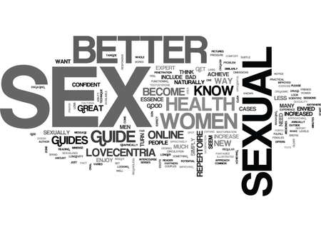 WOULD YOU LIKE TO BE KNOWN AS A SEX GOD TEXT WORD CLOUD CONCEPT