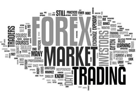 WOULD YOU LIKE TO FOREX OR DAYTRADE TEXT WORD CLOUD CONCEPT Illustration