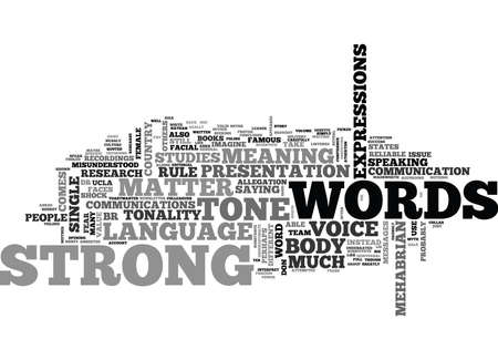 WORDS MATTER TEXT WORD CLOUD CONCEPT Illustration