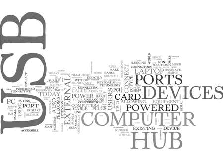 WHAT S A USB HUB TEXT WORD CLOUD CONCEPT Imagens - 79617293