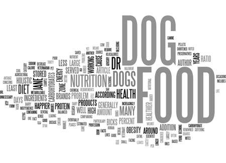 according: WHAT S IN YOUR DOG FOOD TEXT WORD CLOUD CONCEPT
