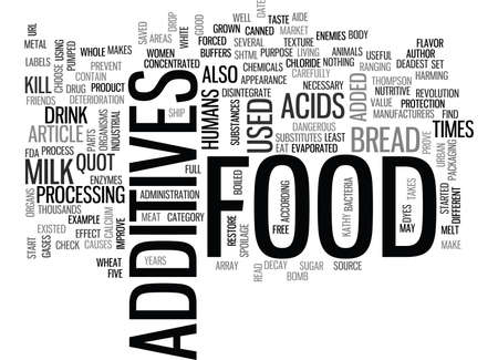 WHAT S THAT IN MY FOOD TEXT WORD CLOUD CONCEPT