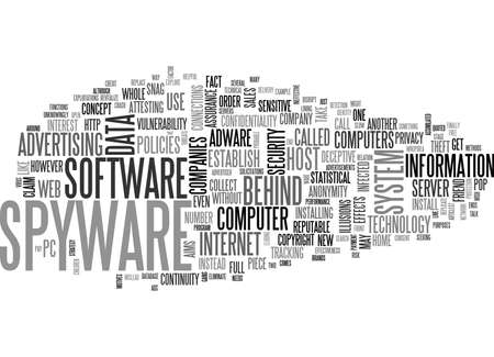 WHAT S THE SNAG BEHIND THE SPYWARE TEXT WORD CLOUD CONCEPT