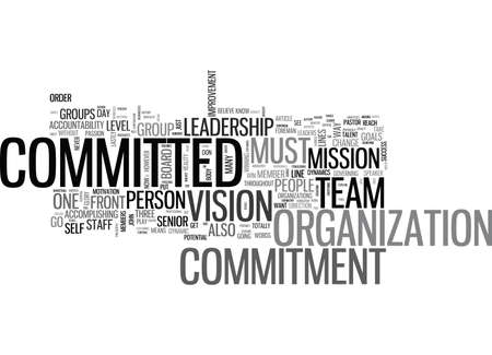 governing: WHAT SHOULD YOU BE COMMITTED TO TEXT WORD CLOUD CONCEPT
