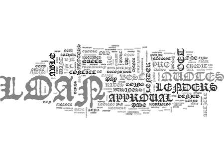 WHAT TO DO IF YOU RE DENIED A LOAN TEXT WORD CLOUD CONCEPT