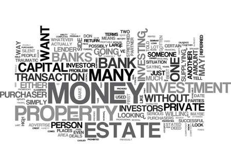 WHAT TO DO WHEN THE BANKS SAY NO TEXT WORD CLOUD CONCEPT