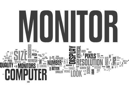 WAT OM TE ZOEKEN IN EEN COMPUTER MONITOR TEXT WORD CLOUD CONCEPT