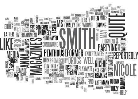 니콜스 스미스의 텍스트 단어 구름 개념에서 우리가 배워야 할 것은 무엇인가? 일러스트