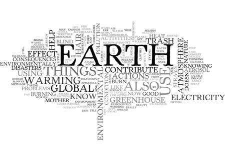WHAT YOU CAN DO FOR MOTHER NATURE TEXT WORD CLOUD CONCEPT