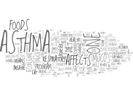 triggered: WHAT YOU EAT AFFECTS HOW YOU BREATHE TEXT WORD CLOUD CONCEPT