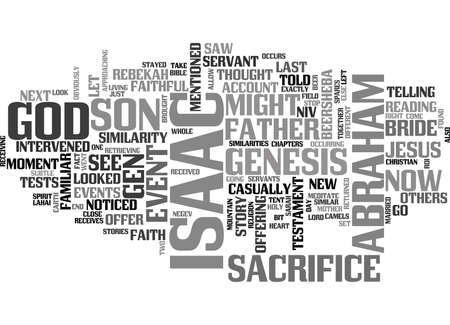 WHERE S ISAAC TEXT WORD CLOUD CONCEPT