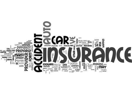 WHAT TO EXPECT AFTER YOU VE HAD AN AUTO ACCIDENT OR TWO TEXT WORD CLOUD CONCEPT
