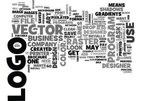 postscript: WHAT TO EXPECT FROM YOUR LOGO DESIGNER TEXT WORD CLOUD CONCEPT