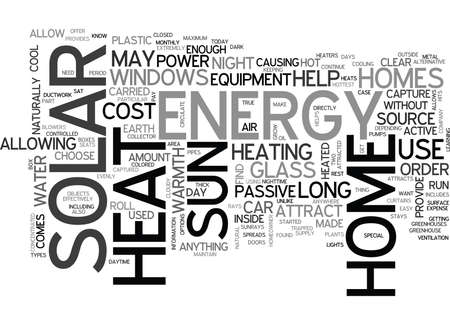 WHERE TO FIND SOLAR ENERGY TEXT WORD CLOUD CONCEPT Illustration