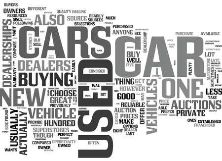 素晴らしいを取得する場所を使用テキスト WORD クラウドの概念は車