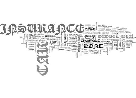 cheapest: WHICH CAR INSURANCE RATE IS THE CHEAPEST TEXT WORD CLOUD CONCEPT