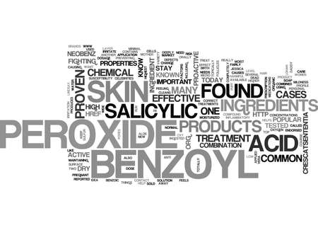 peroxide: WHAT YOU NEED TO KNOW ABOUT BENZOYL PEROXIDE TEXT WORD CLOUD CONCEPT