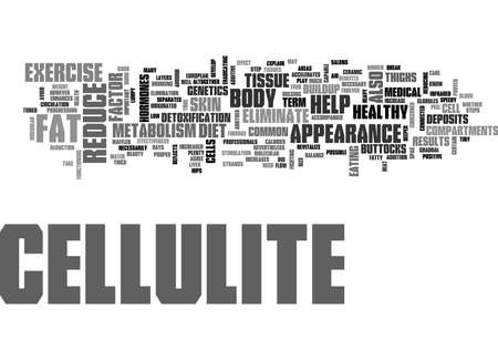 WHAT YOU NEED TO KNOW ABOUT CELLULITE TEXT WORD CLOUD CONCEPT